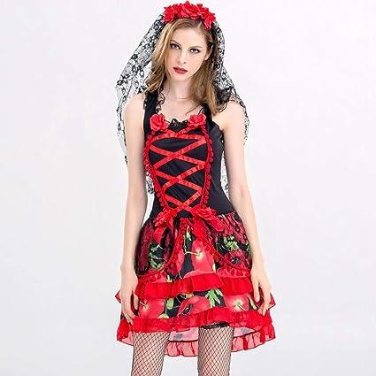 Ambiguity Disfraz de Halloween Mujer Novia Traje Halloween ...