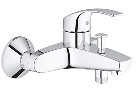 GROHE Thermostatic Mixer Tap for Bath/Shower Grohtherm 800 34568000 ...