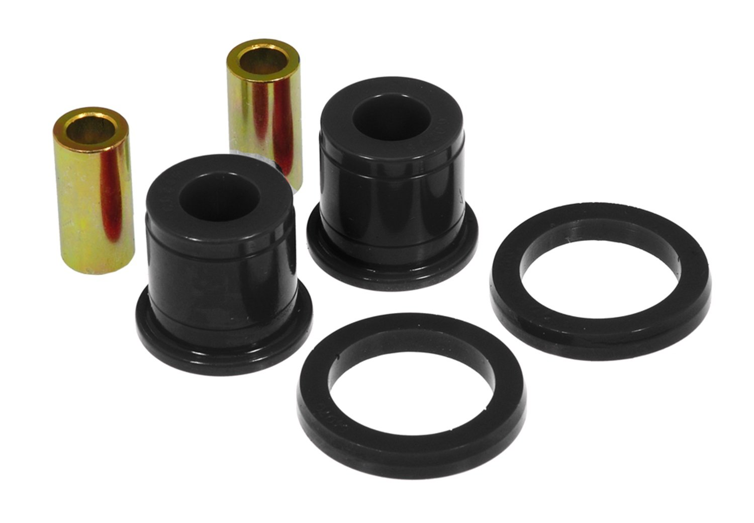 Prothane 7-1009 Red Front Spring and Shackle Bushing with Superlift Springs