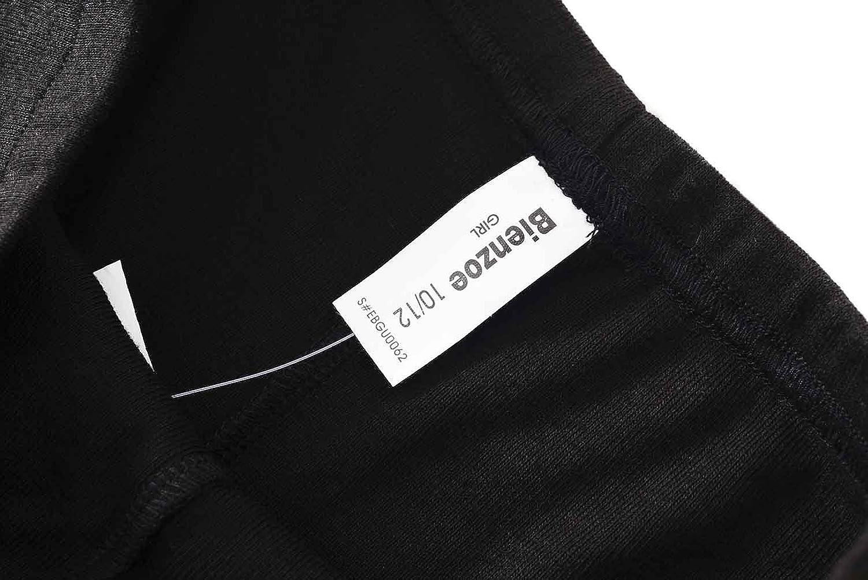 Bienzoe Girls High Tech Fiber Polypropylene Thermals Long Johns Tops /& Pants Set