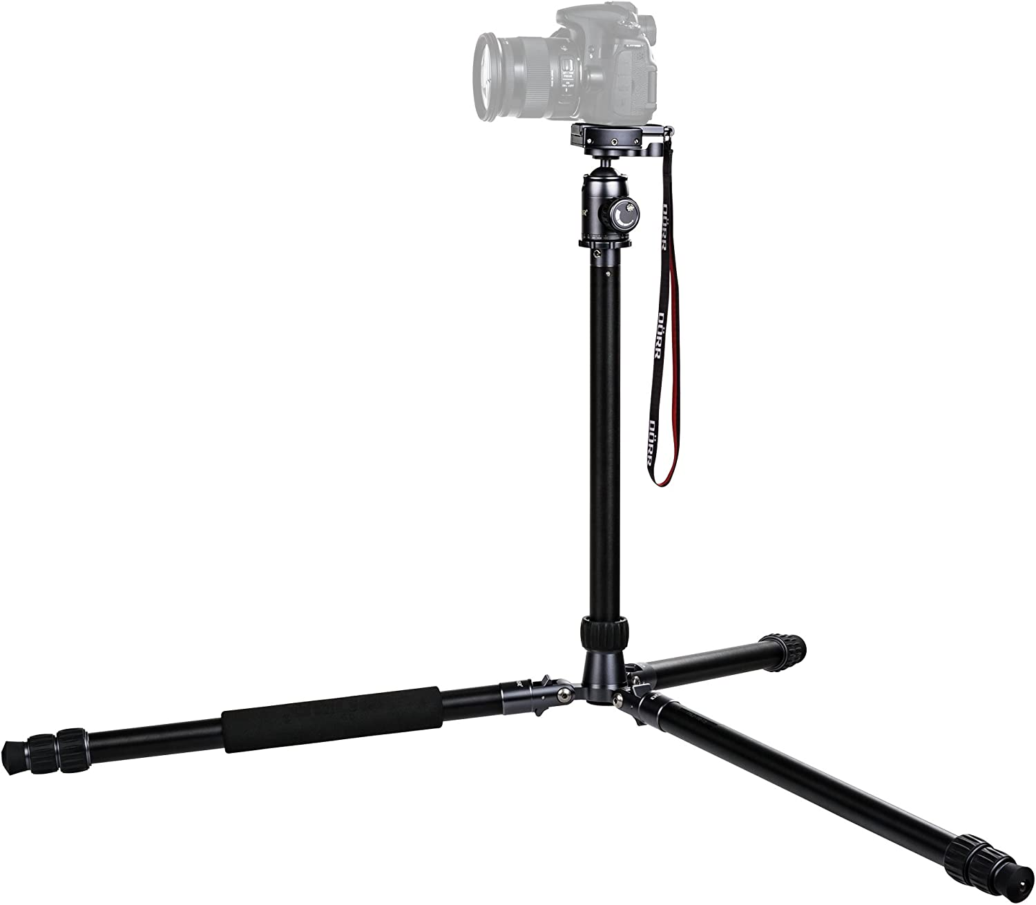 Dorr HQ1615 3 Section Aluminium Tripod with HQ33 QR Ball Head for Camera