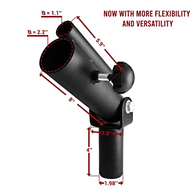 Details about  /Fitness Gym T-Bar Row Plate Post Insert Landmines Barbell Fixed Attachment 360°