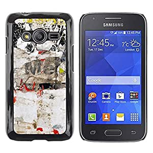 Print Motif Coque de protection Case Cover // V00001931 la pared del cartel // Samsung Galaxy Ace4 / Galaxy Ace 4 LTE / SM-G313F