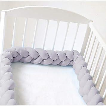 Bettumrandung Baby Geflochten