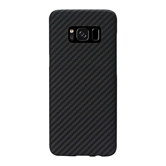 check out 26c37 88556 PITAKA Minimalist S8 Plus Case, Aramid Fiber[Real Body Armor Material]Super  Slim 0.65mm Sturdy Durable Case Protective Snap-on Scratch Resistant Back  ...