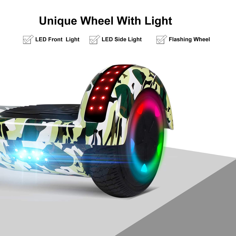 Amazon.com: Uni-SUN - Patinete eléctrico de 6.5 pulgadas ...