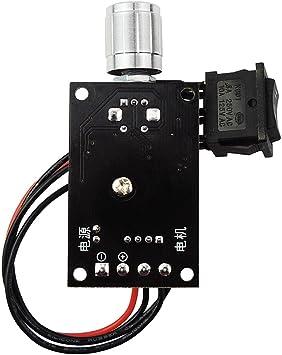 6V//12V//24V//28V 3A 80W 1203BB DC Motor Speed Controller PWM Adjustable Reversible