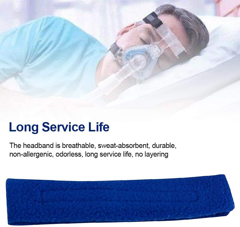 Cracklight Ventilateur Bandeau Universal Headgear Protection Pad Respirant Soft Blue Headband Ventilators Accessory