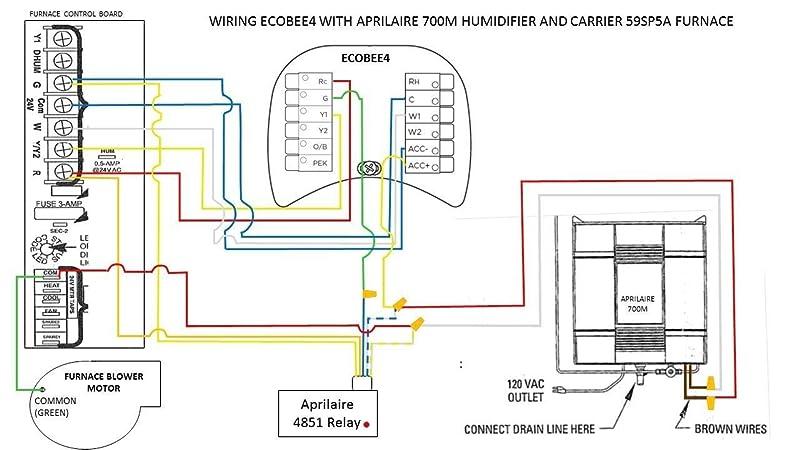 Aprilaire Wiring Diagram