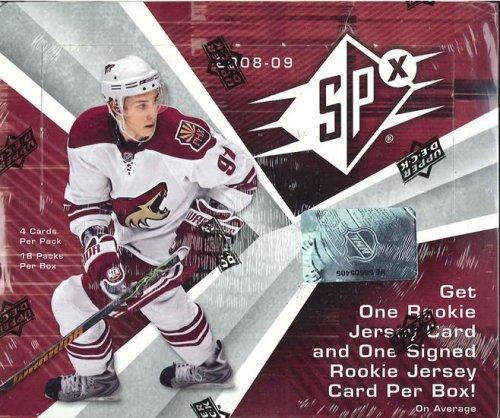 2008/09 Upper Deck SPx Hockey HOBBY Box - ()