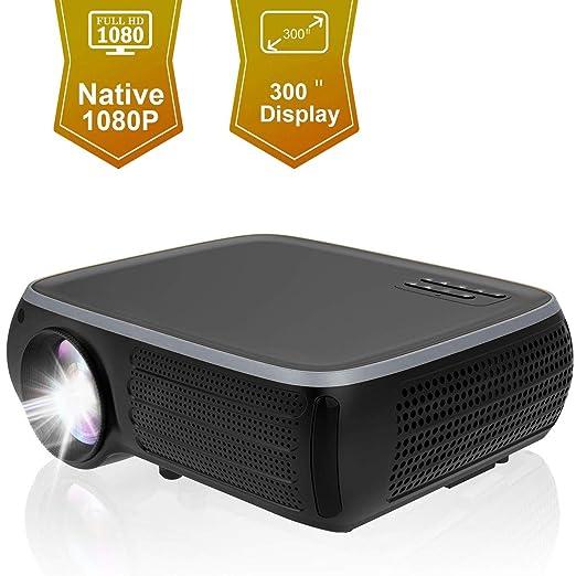 Ai LIFE Proyector Nativo 1080P Proyector de Video Full HD de 26000 ...