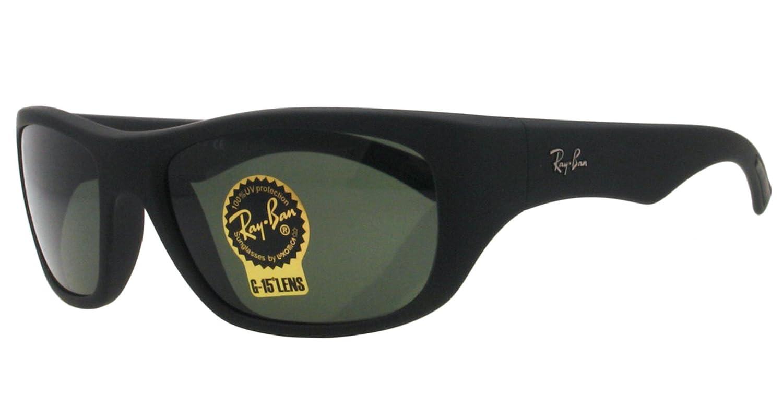 98588f9f57 Amazon.com  Ray Ban Sunglasses RB 4177 BLACK 622 58MM RB4177  Ray-Ban   Clothing