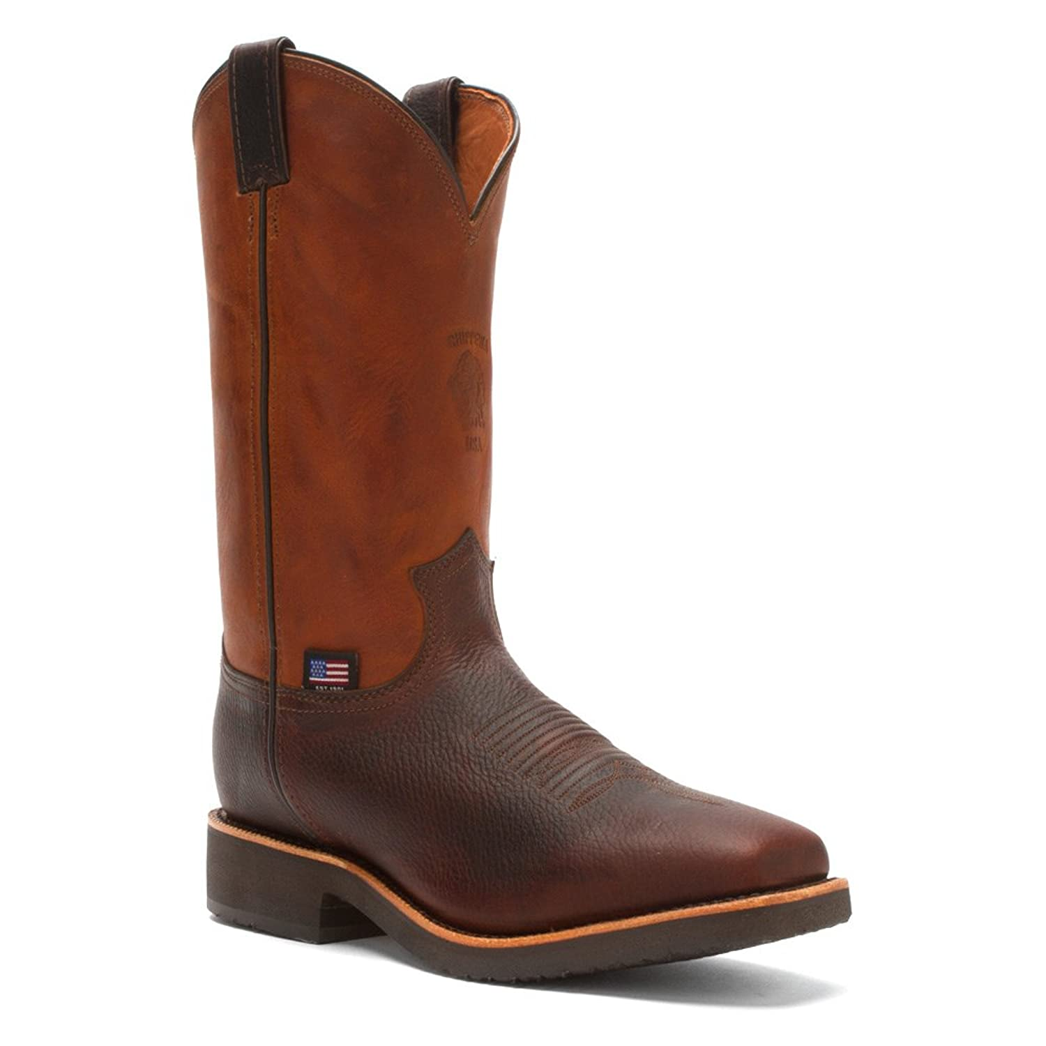 "Chippewa Men's 12"" Square Toe 29320 Pull On Boot"