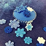 3D Snowflake Fondant Mold, Silicone Mold for