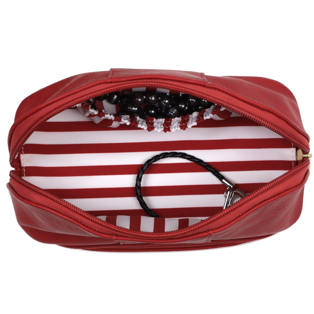 The Weekender Personal Travel Makeup and Jewelry Case Organizer by Bucasi (Image #4)
