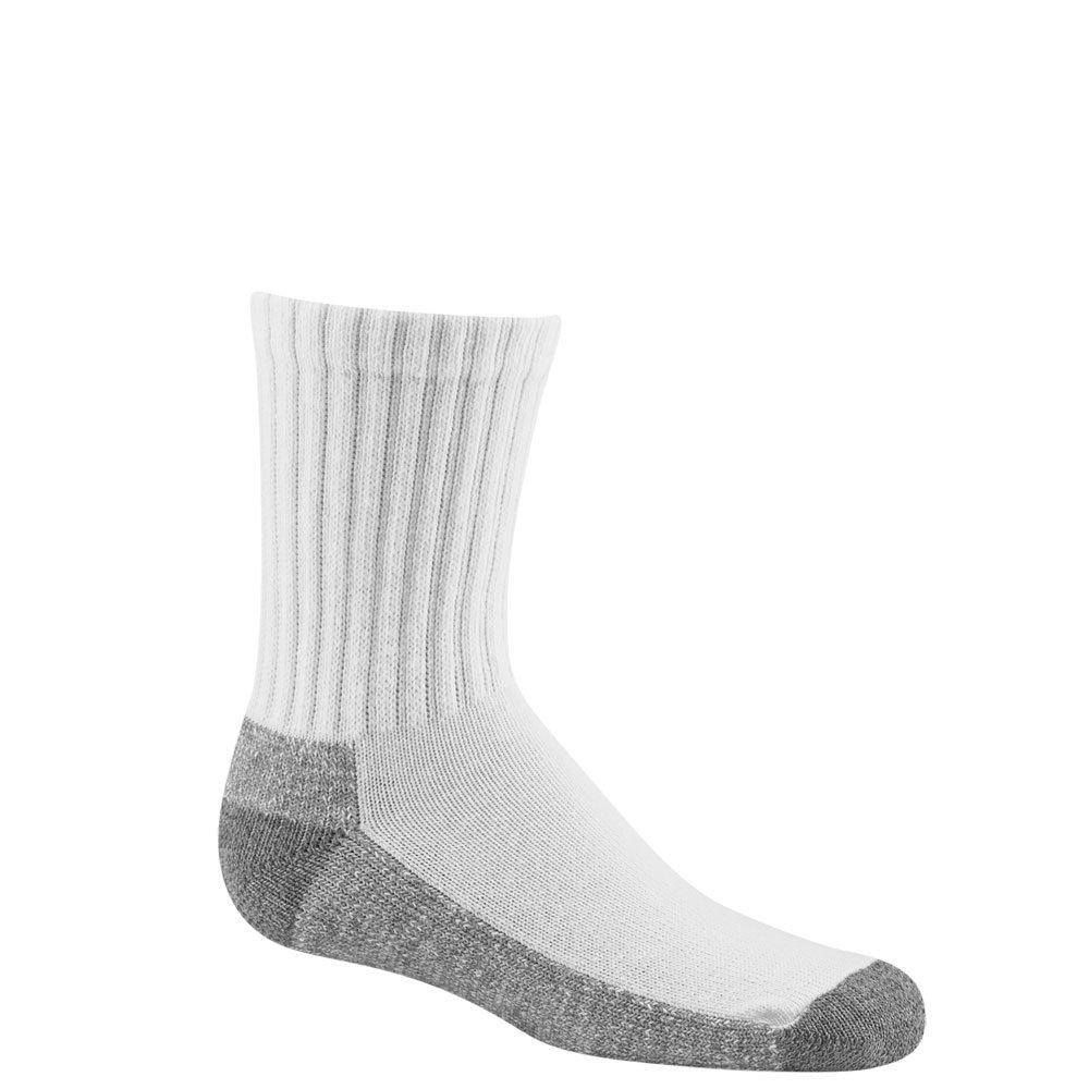 Wigwam Pee Wee Sport Quarter Socks 3 Pack White YM