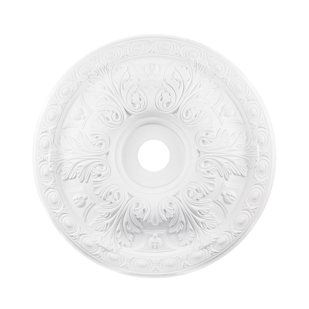 ELK Lighting M1019WH Decorative-Ceiling-Medallions, 28''L x 28''W x 3''H, White