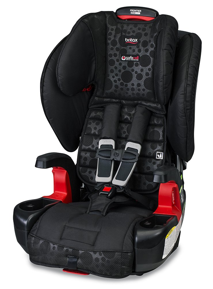Britax Frontier ClickTight Combination Harness 2 Booster Car Seat Bubbles