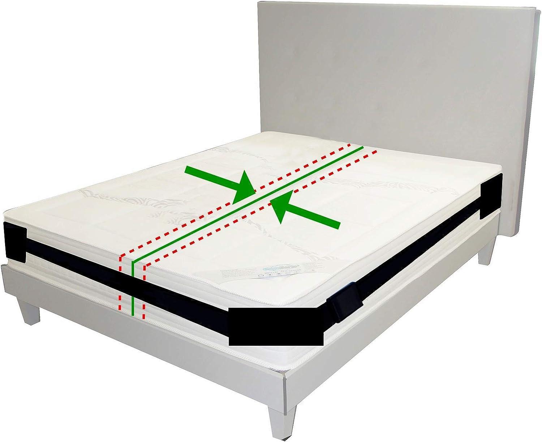 Kit convertidor de Cama Twin a King | Conector de colchón para Invitados | protección de los bordes | estadías y reuniones Familiares |