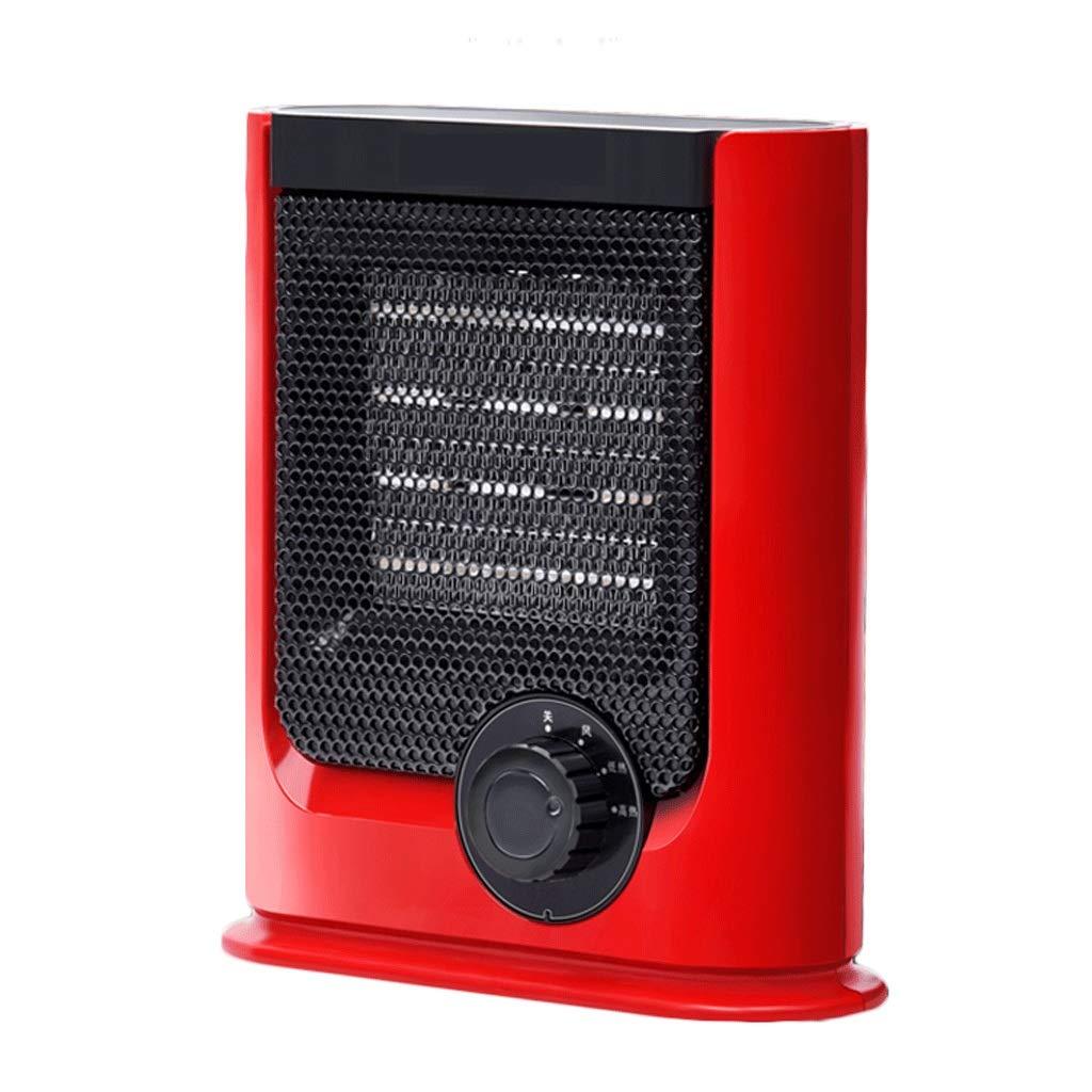Acquisto RKY Riscaldatore per Uso Domestico Bagno Energia Risparmio energetico Ufficio Riscaldatore Mini riscaldatore Elettrico 1500W Rosso Riscaldamento rapido Prezzi offerte