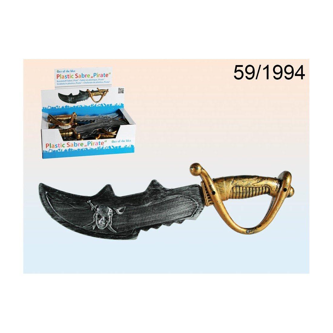 Chafarote de Plástico - espada pirata 38 cm ideal para disfraz ...
