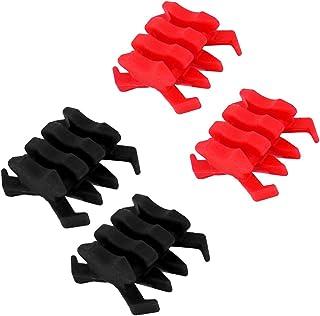 Homyl Stabilisateur d'Arc pour Arc à Poulies Arc Composé Amortisseur Vibrations 4x Noir Rouge