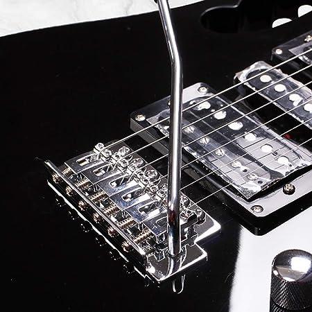 Miiliedy Rock Roll Blues Heavy Metal Música popular Guitarra eléctrica 24 trastes Práctica para principiantes Rendimiento profesional Guitarra electrónica ...