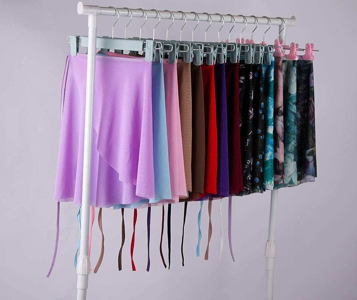 Limiles Dance Sheer Wrap Ballet Skirt for Women and Kids Skate Over Scarf Dancewear
