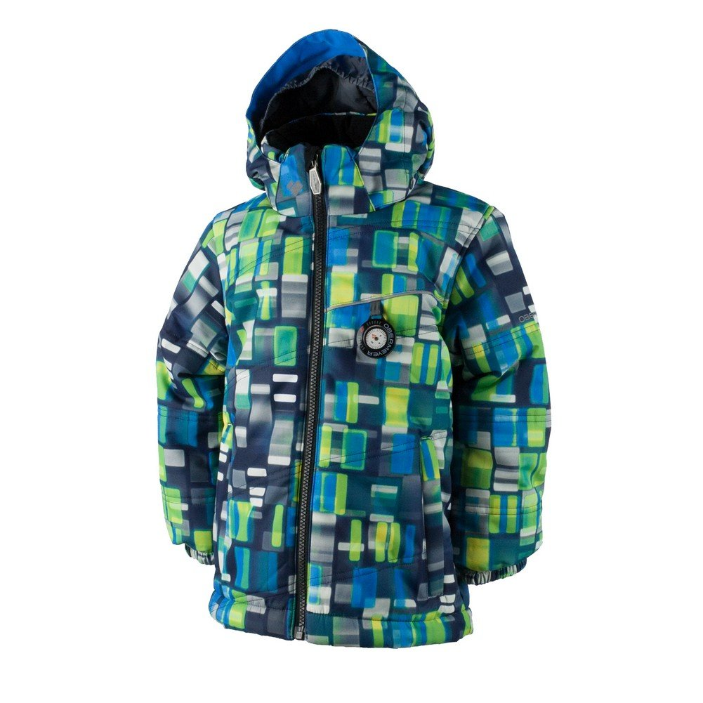Obermeyer Boys Boys' Stealth Jacket, 5, Blue