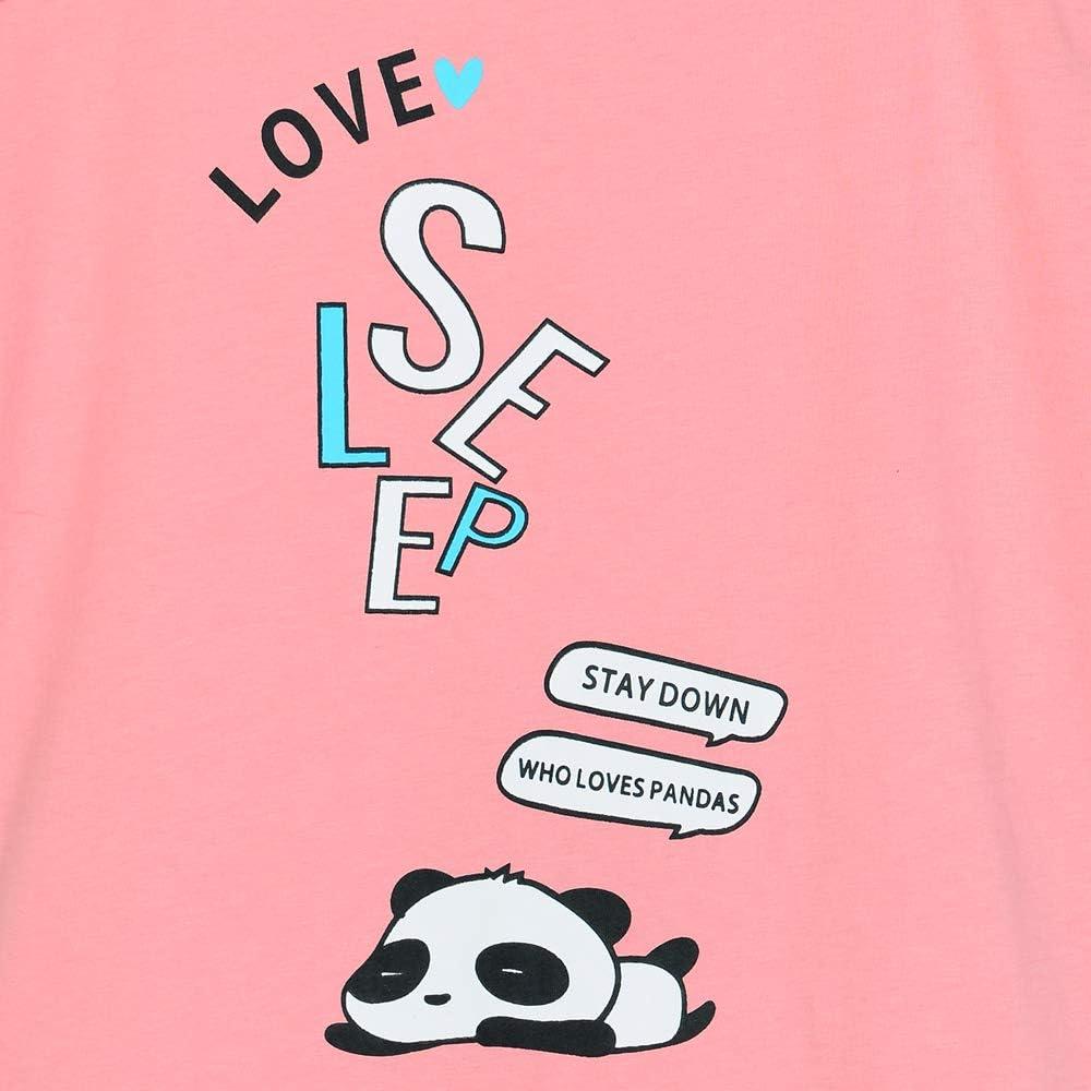 Girl Sleeveless Summer Pajamas Set Cute Unicorn Pattern Tank Top and Stripe Shorts Sleepwear Soft Teen PJS Set Size 6-16