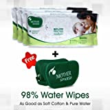 Mother Sparsh Baby Wet Wipes (80 Wipes, Pack Of 3)