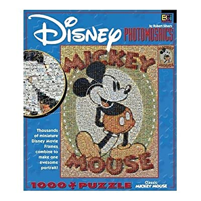 Buffalo Games Disney Photomosaic Classic Mickey 1000 Piece Jigsaw Puzzle By Buffalo Games