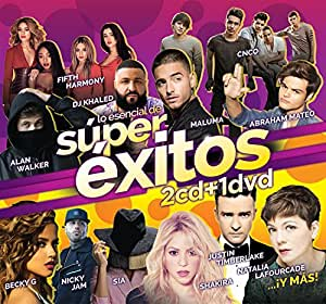 SUPER EXITOS 2 CD's + DVD LATIN AMERICAN IMPORT 37 SONGS & 33 VIDEOS