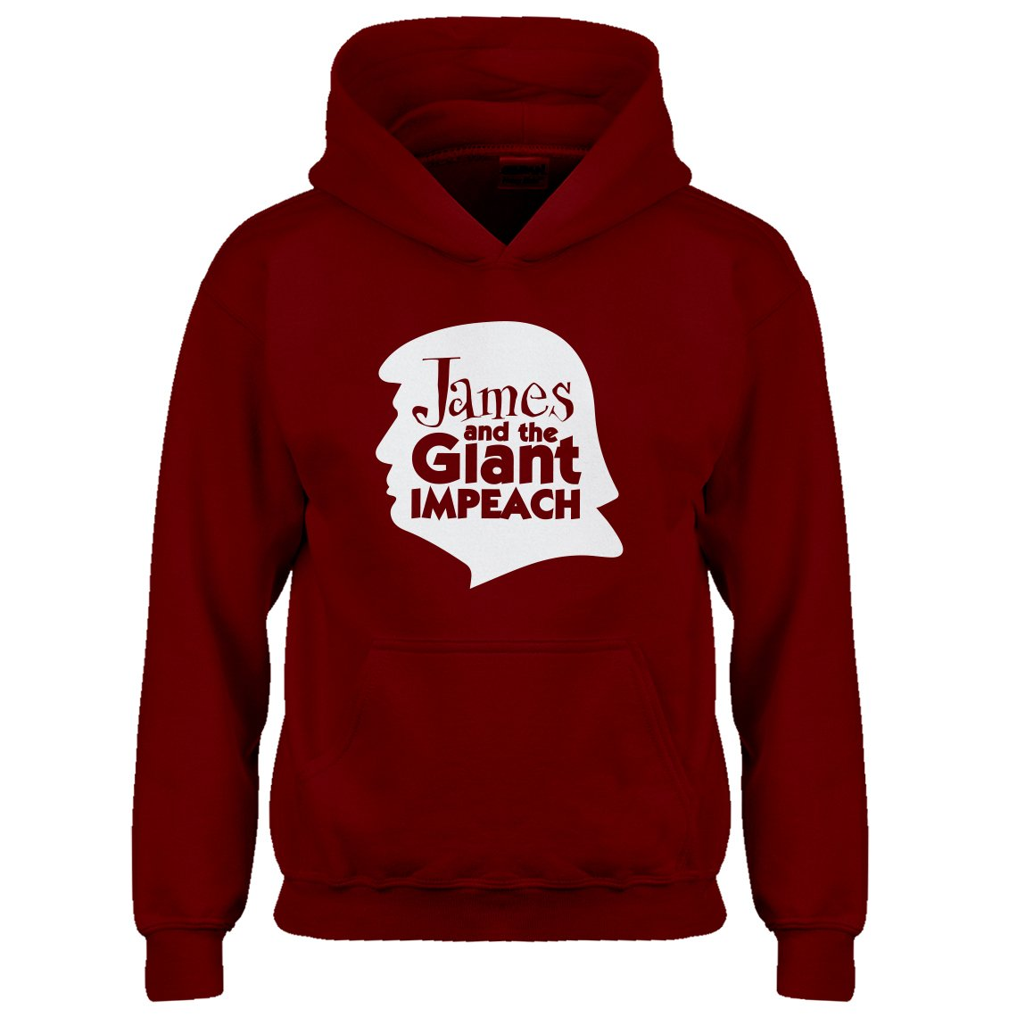 Indica Plateau Youth James and The Giant Impeach Kids Hoodie