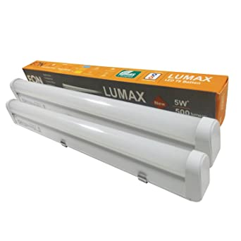 Nice Eon Electric: LED Tube Light LUMAX 5W 1Foot (Pack Of 2)