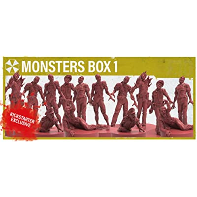 Resident Evil 2: The Board Game - Monster Box 1 (Kickstarter Exclusive): Toys & Games