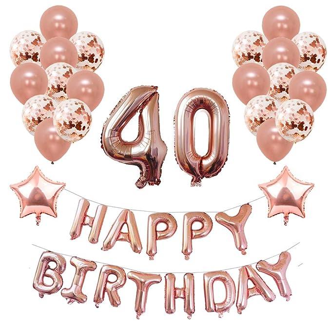 Balloons Decorations Birthday Latex X 10 Pcs Happy 4th Italian