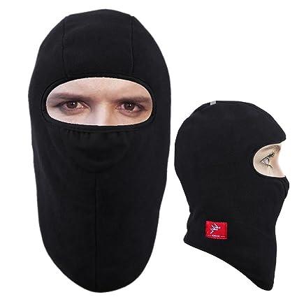 Amazon.com: Moocy - Máscara de esquí resistente al viento ...