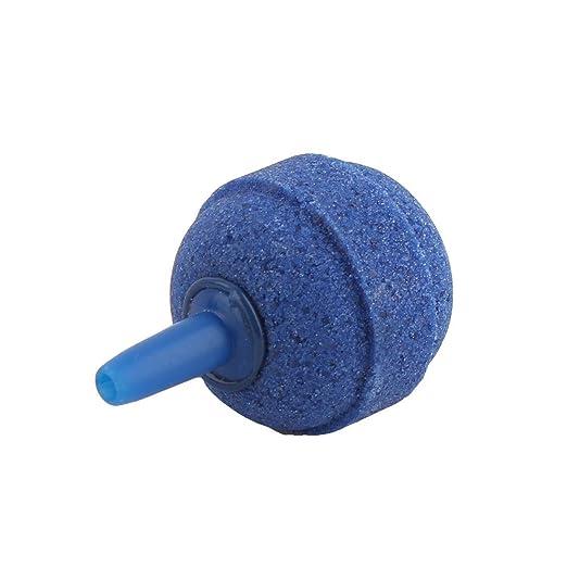 Amazon.com : eDealMax acuario pecera aireador bola Redonda burbuja de aire Stones difusores 10 piezas Azul : Pet Supplies