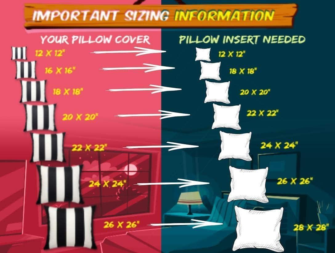 Coussin insère pads fibre creuse 16 18 20 22 24 tailles