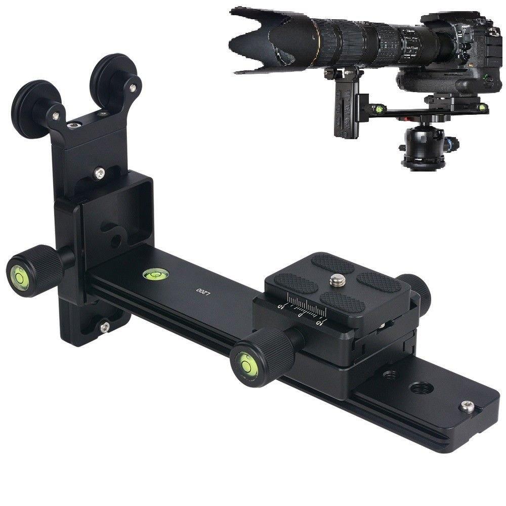 FOTGA L200 Telephoto Lens Quick Release Plate Long-Focus Support Holder for Tripod Ball Head DSLR Camera