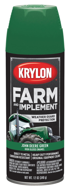 Krylon 1932 Krylon Farm & Implement Paints John Deere Green 12 oz. Aerosol Krylon Farm & Implement Paints by Krylon (Image #1)