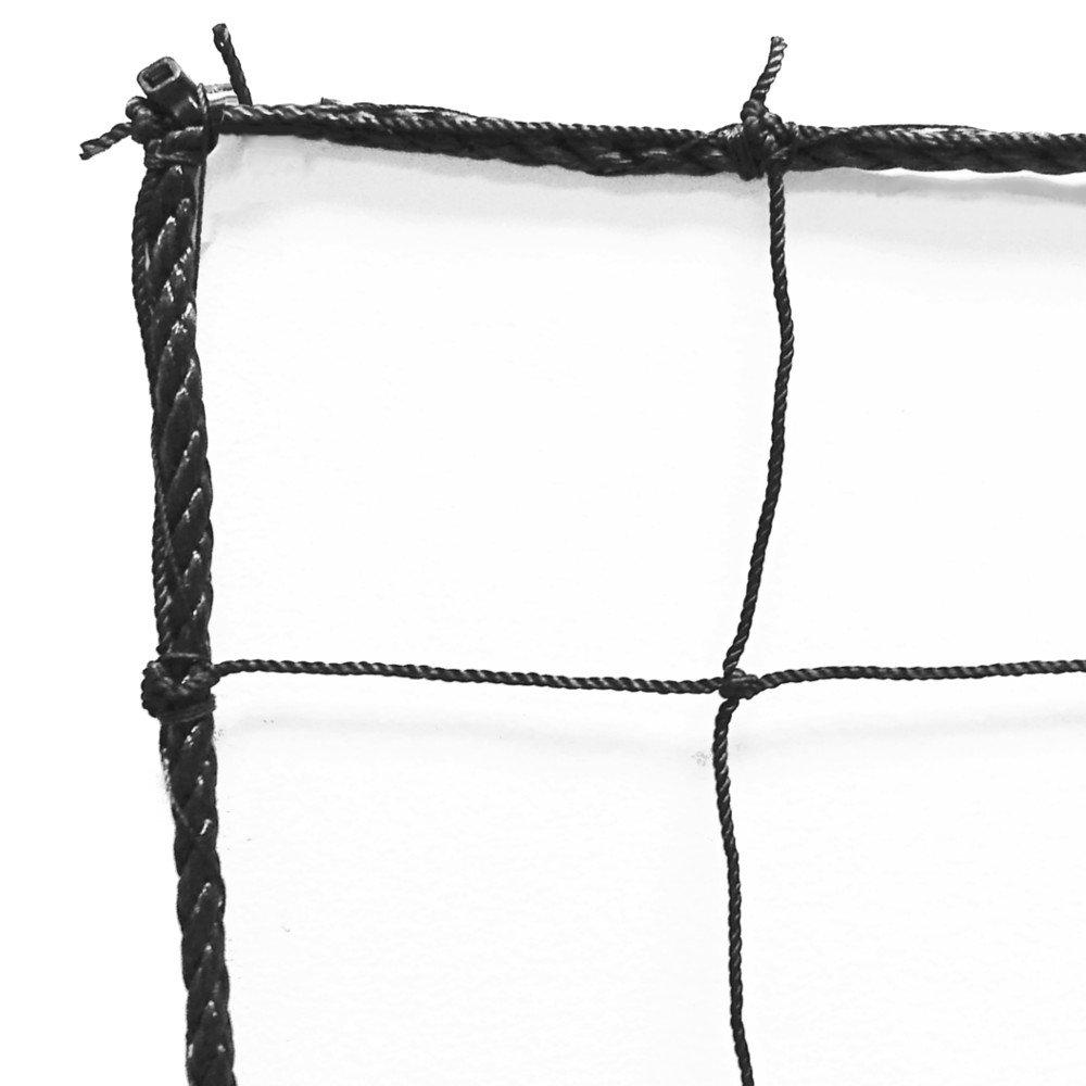 JFn Soccer Backstop /バリアNet、ブラック B00VAMARUK 10 X 10