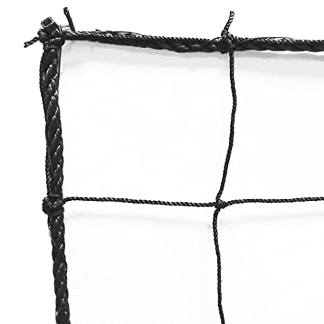 eb36621dc Amazon.com : Just For Nets JFN Soccer Backstop/Barrier Net, Black ...