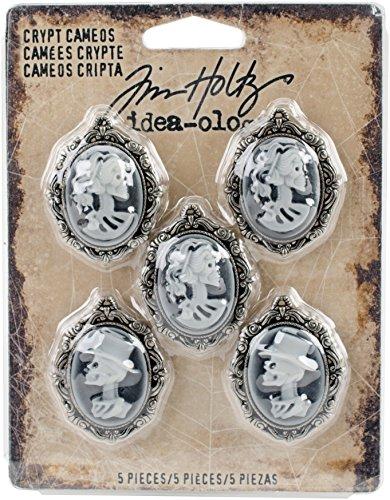 Tim Holtz TH93602 Idea-Ology Halloween Crypt Cameos -