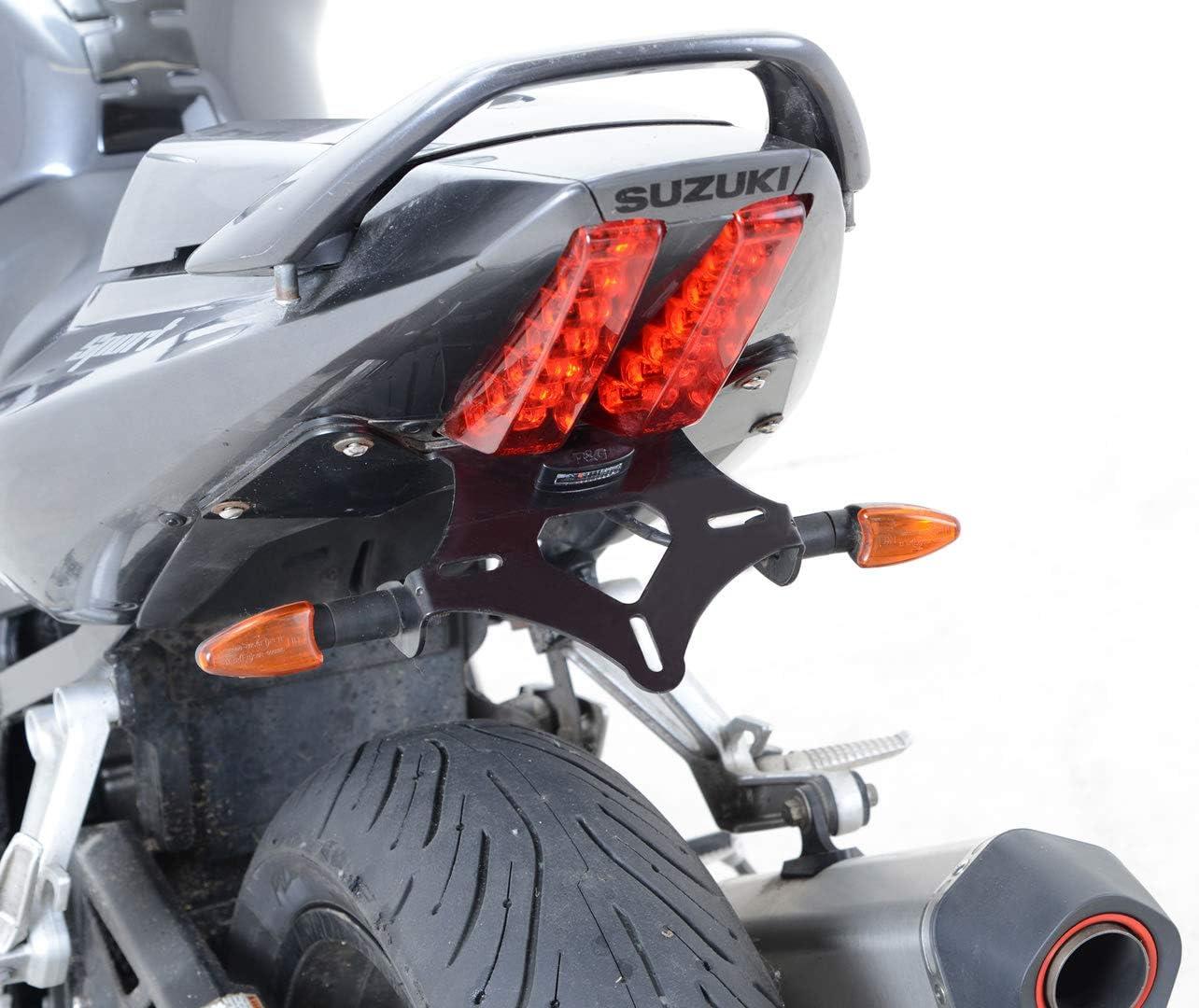 RG RACING Support de plaque SUZUKI 650 SV Noir