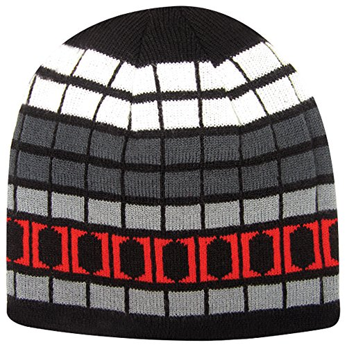 (Igloos Boys Reversible Logo Beanie, Anthracite, One)