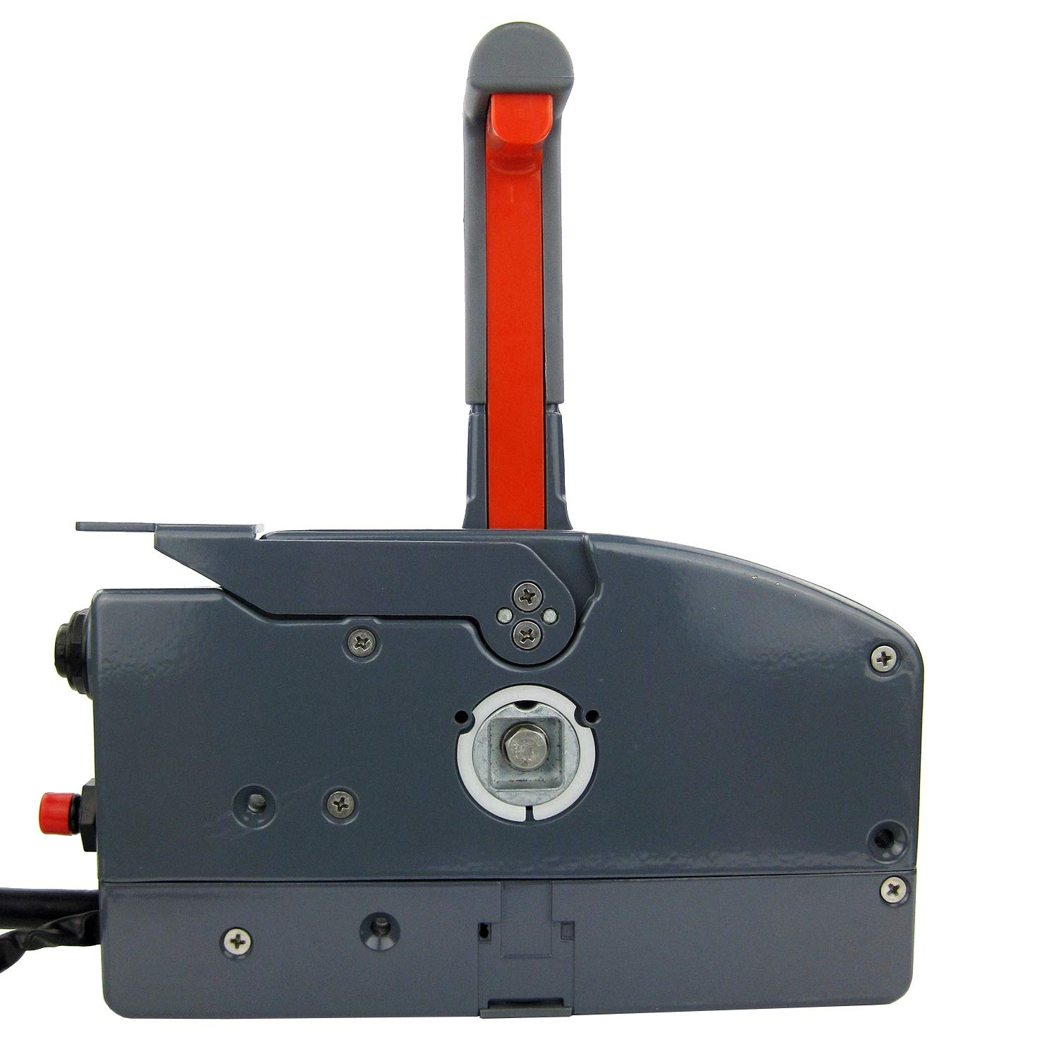 SEAWELL Boat Outboard Remote Control Box for Yamaha 10Pin Cable Right Hand Push Throttle
