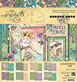 Graphic 45 Fairie Dust 8x8 Paper Pad