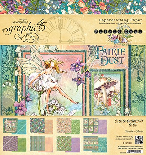 Graphic 45 Fairie Dust 8x8 Paper Pad
